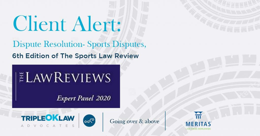 6th Edition of The Sports Law Review