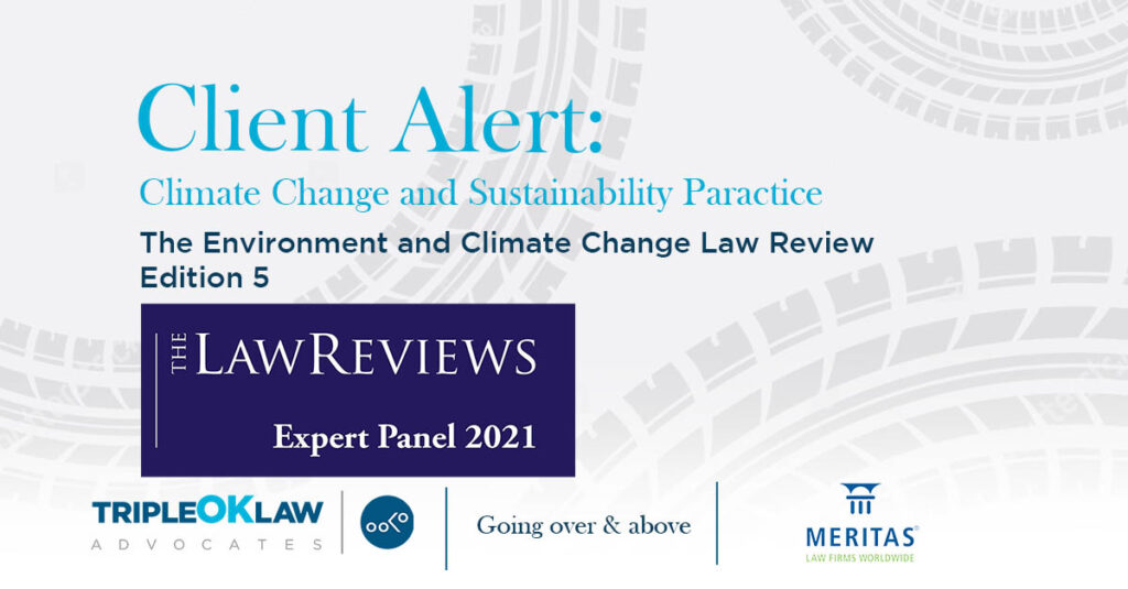 the environment and climate change law reviews